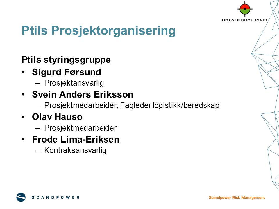 Ptils Prosjektorganisering