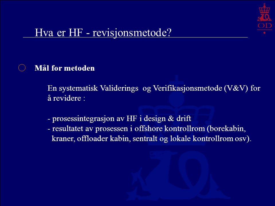 Hva er HF - revisjonsmetode