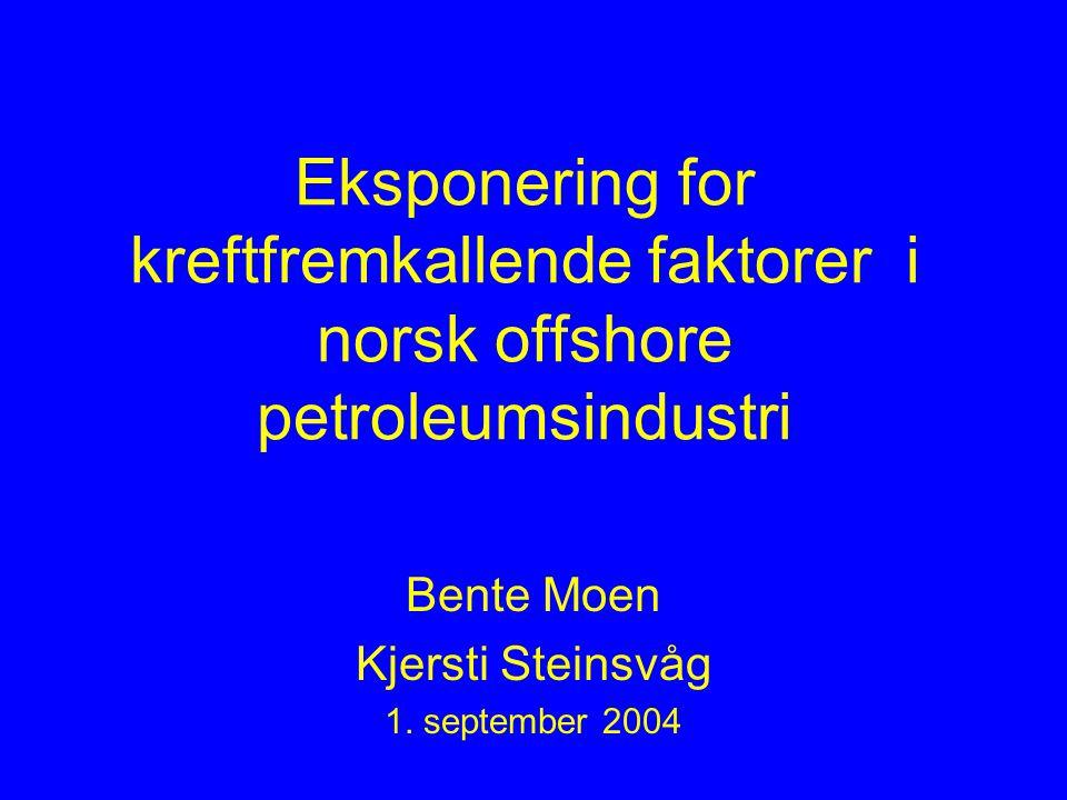 Bente Moen Kjersti Steinsvåg 1. september 2004