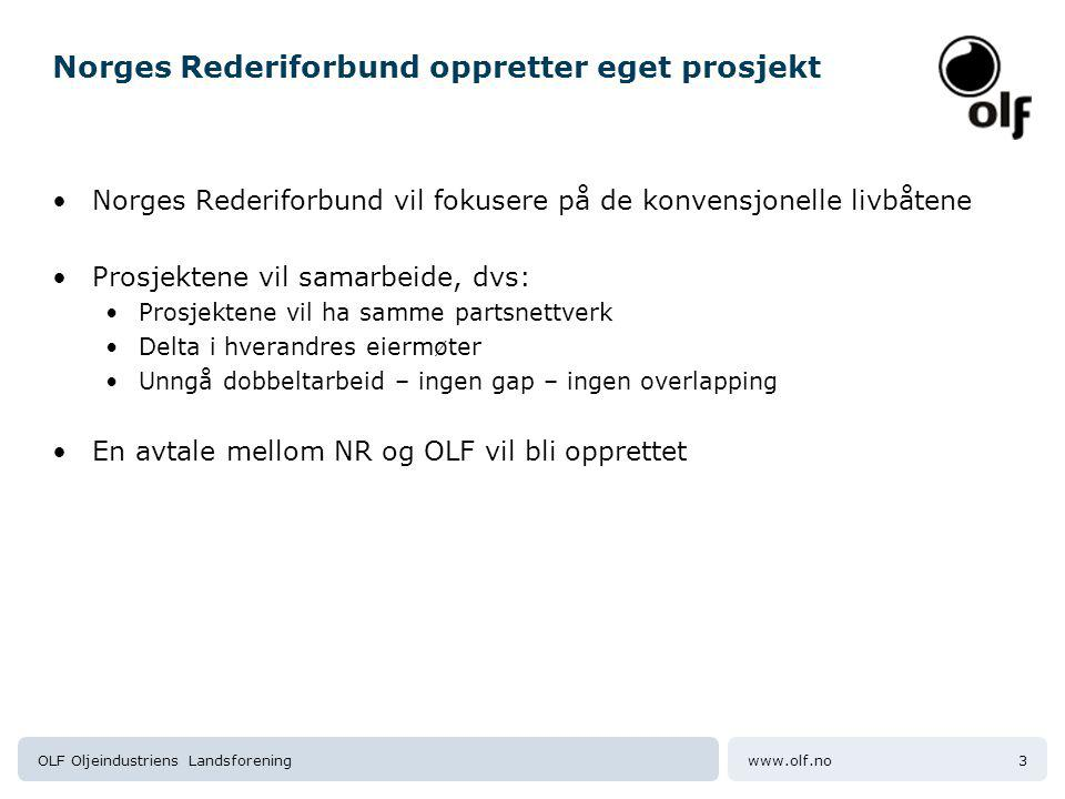 Norges Rederiforbund oppretter eget prosjekt