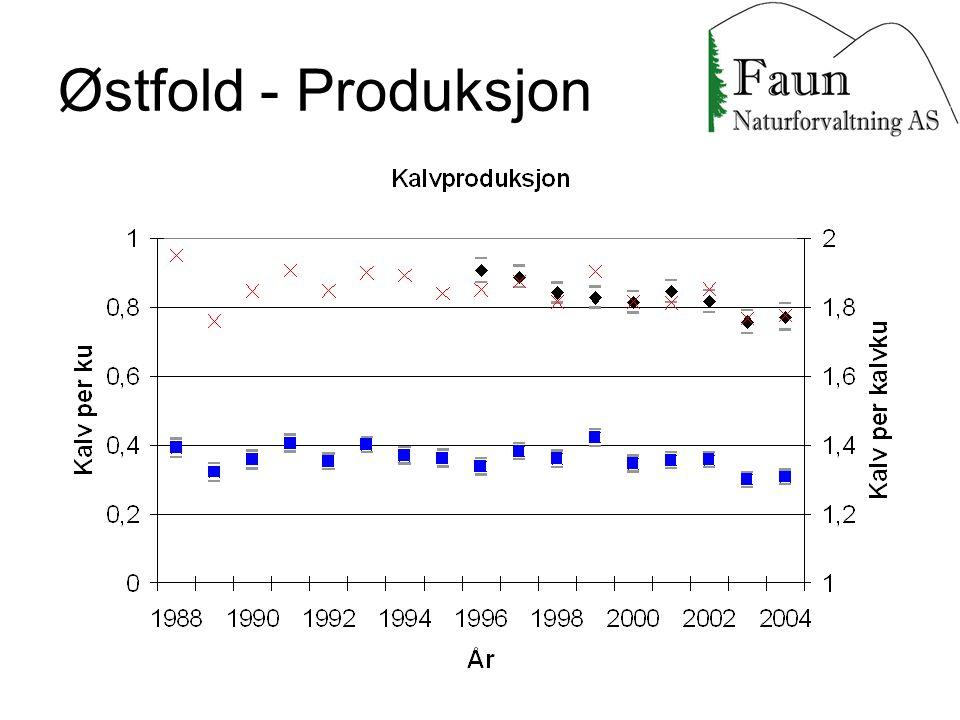 Østfold - Produksjon