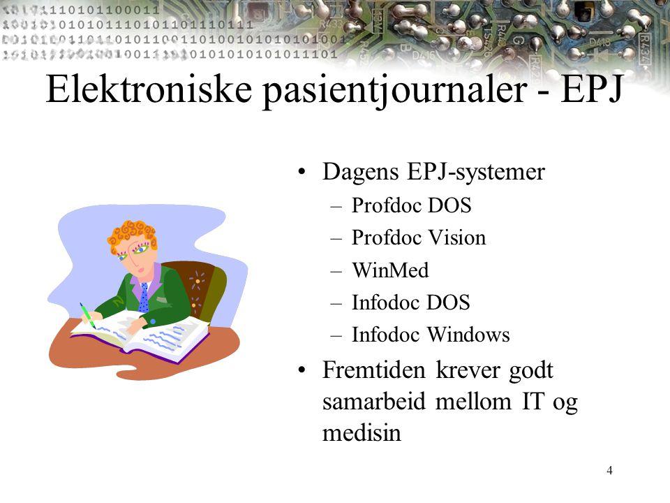 Elektroniske pasientjournaler - EPJ