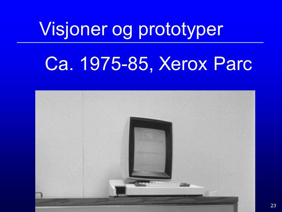 Visjoner og prototyper