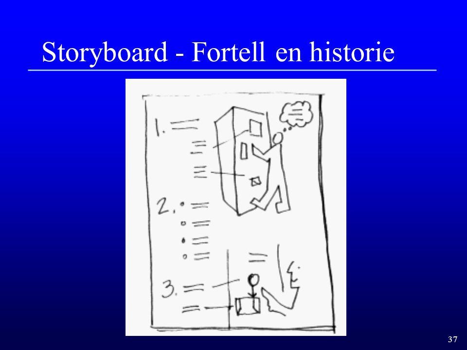 Storyboard - Fortell en historie