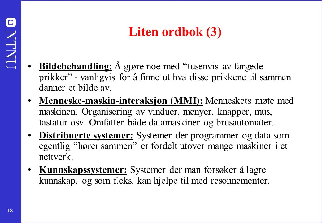 Liten ordbok (3)