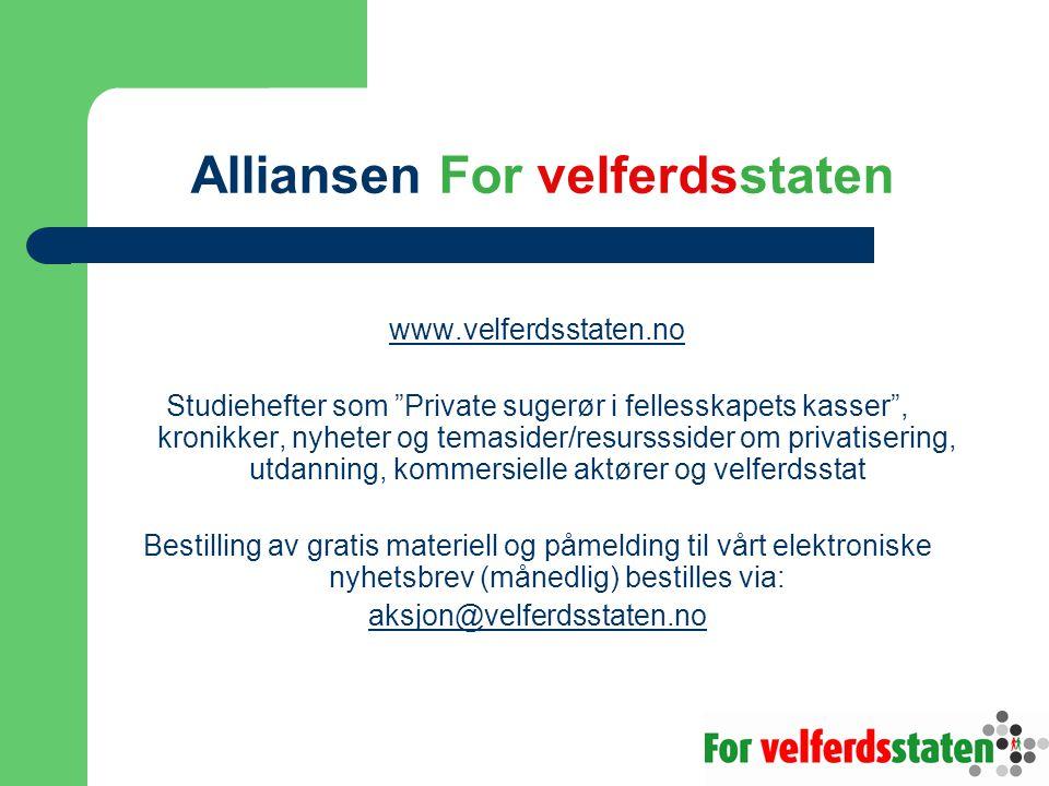 Alliansen For velferdsstaten