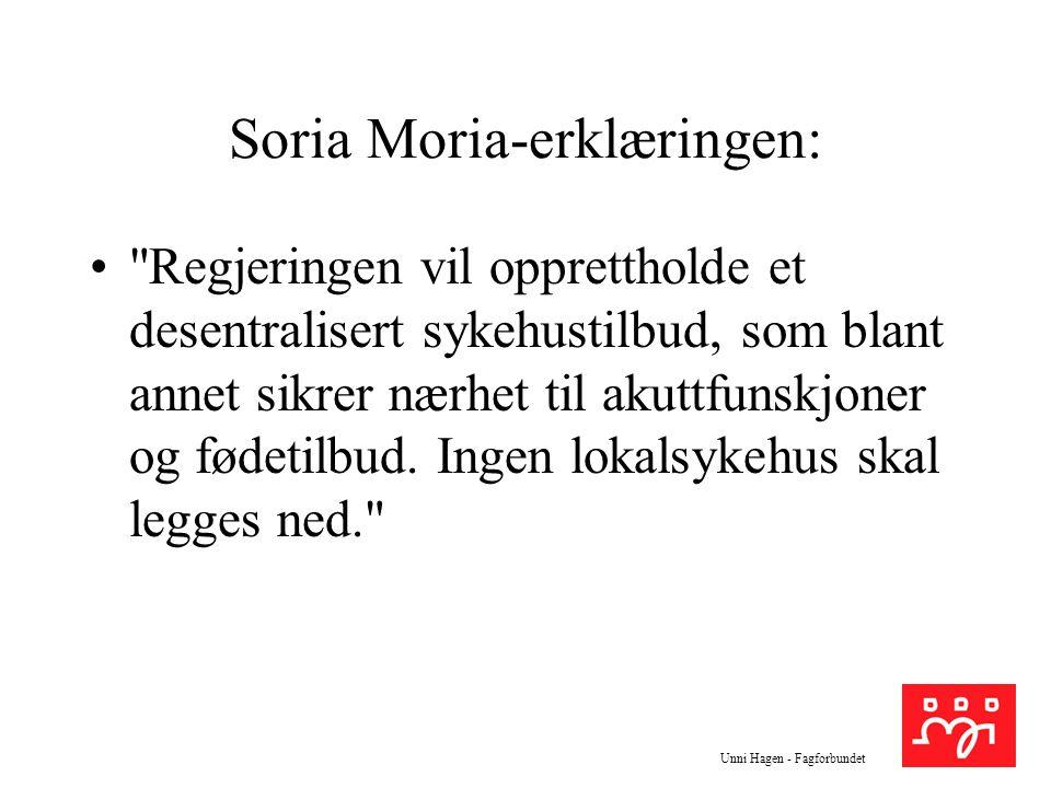 Soria Moria-erklæringen: