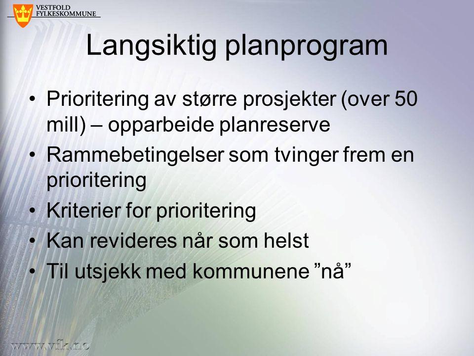Langsiktig planprogram