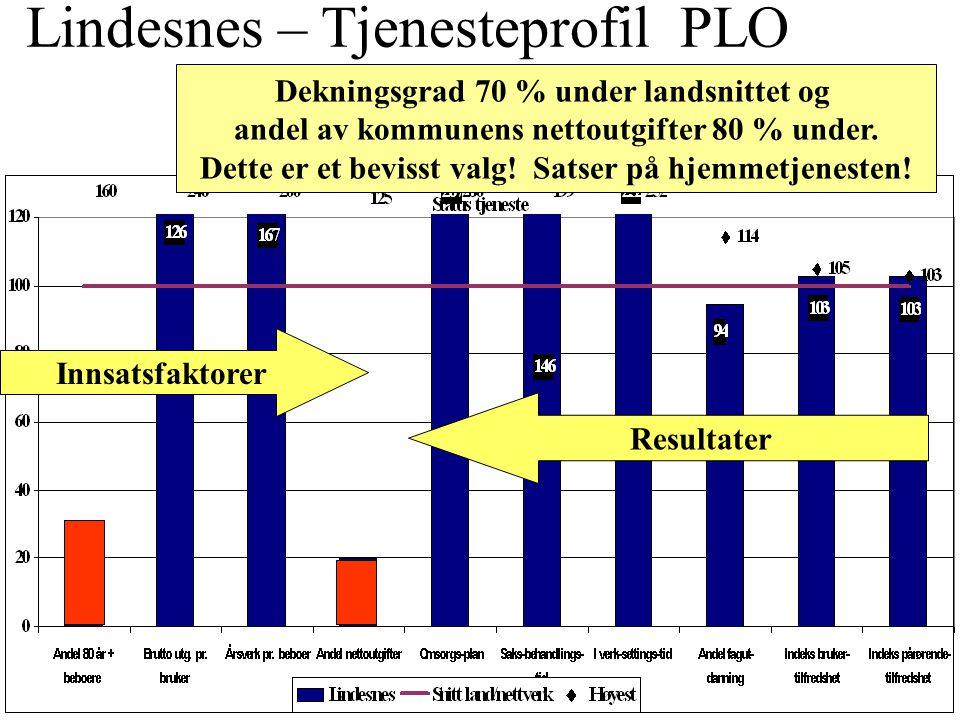 Lindesnes – Tjenesteprofil PLO Institusjon