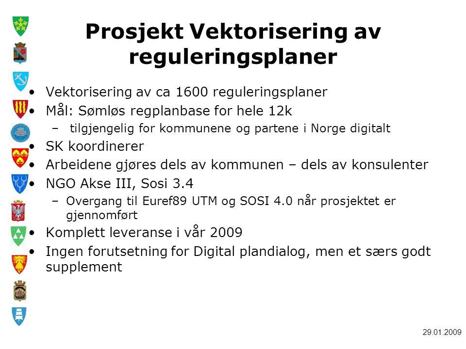 Prosjekt Vektorisering av reguleringsplaner