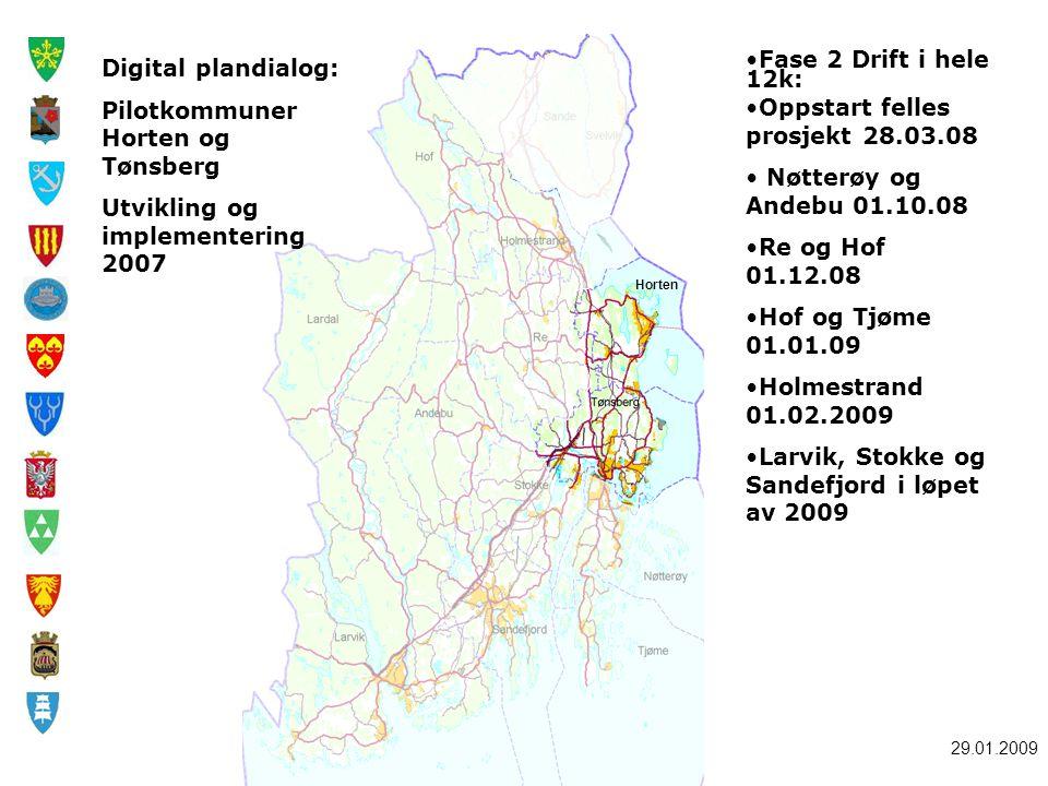 Pilotkommuner Horten og Tønsberg