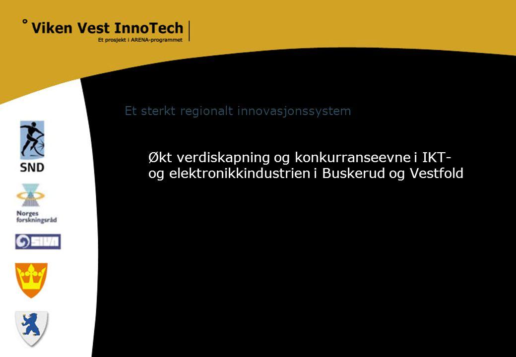 Et sterkt regionalt innovasjonssystem
