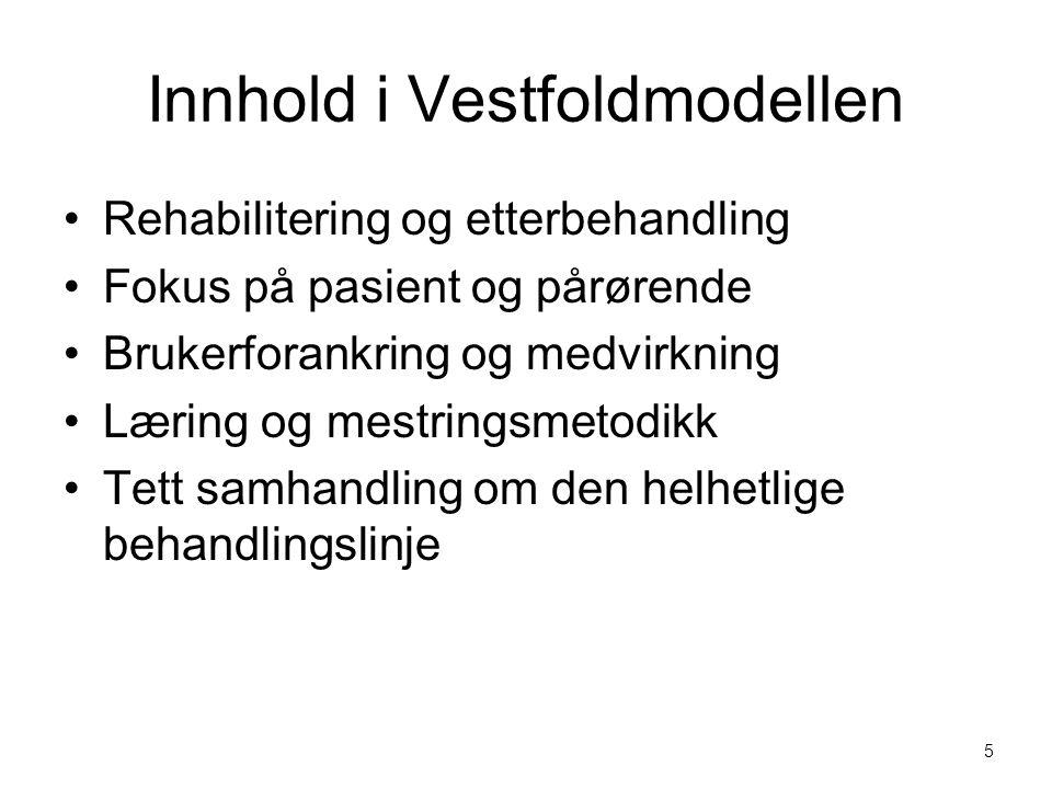 Innhold i Vestfoldmodellen