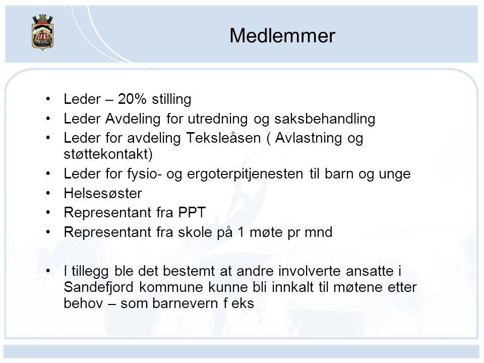 Medlemmer Leder – 20% stilling