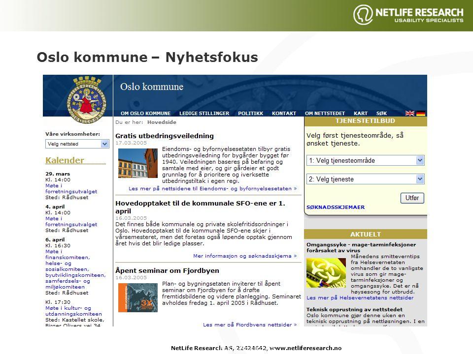 København kommune – Tjenestefokus