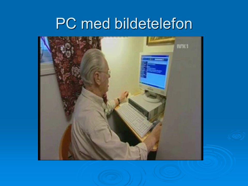 PC med bildetelefon