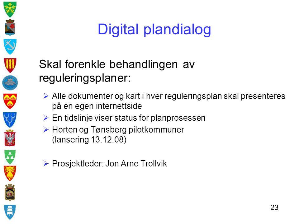 Digital plandialog Skal forenkle behandlingen av reguleringsplaner: