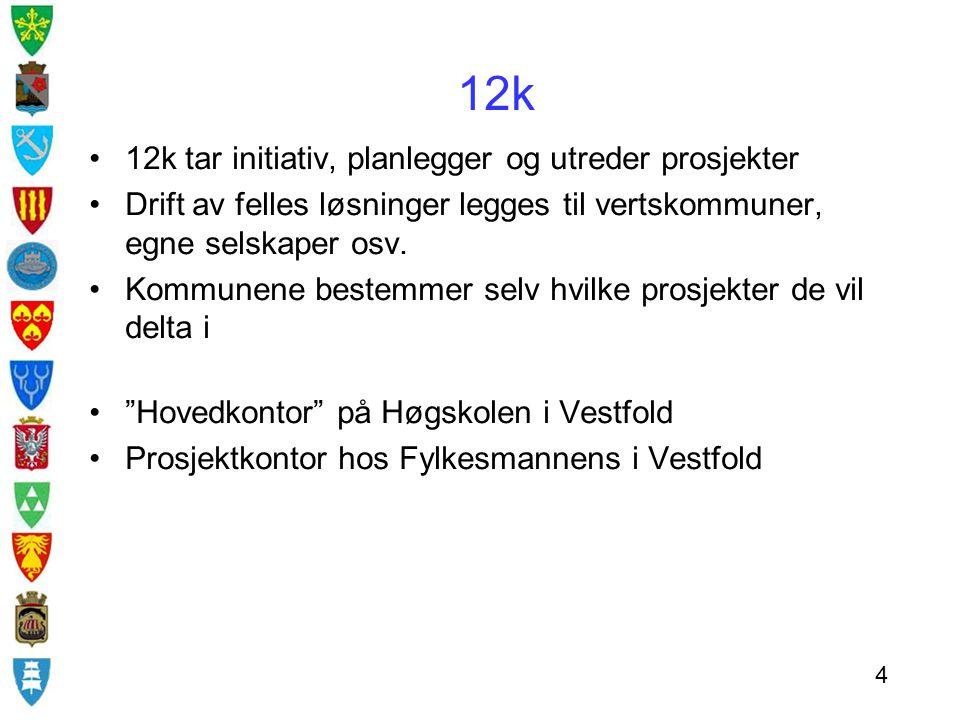 12k 12k tar initiativ, planlegger og utreder prosjekter
