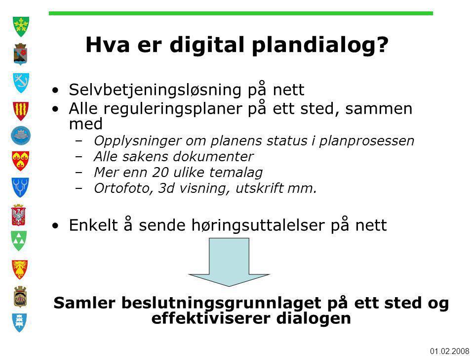 Hva er digital plandialog