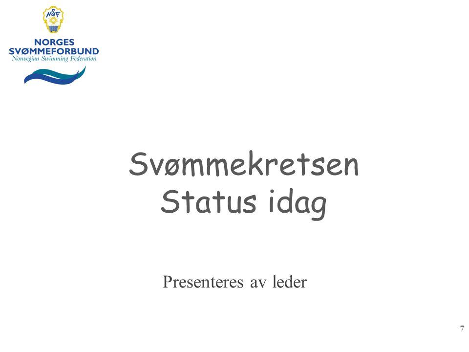 Svømmekretsen Status idag