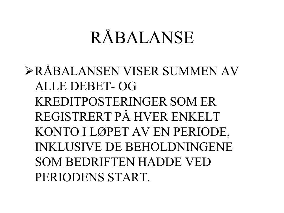 RÅBALANSE