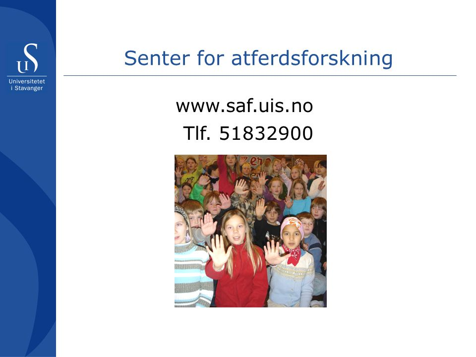 Senter for atferdsforskning