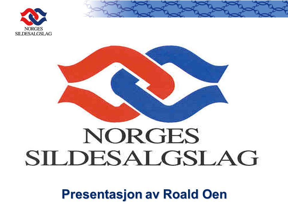 Presentasjon av Roald Oen
