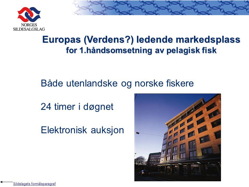 Europas (Verdens ) ledende markedsplass