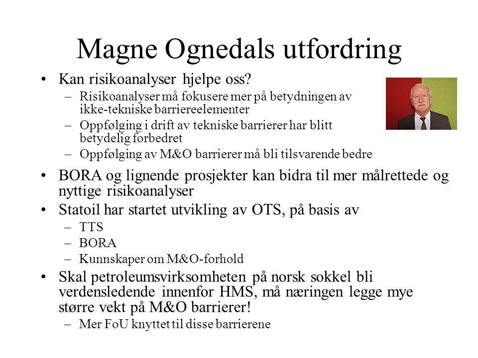 Magne Ognedals utfordring