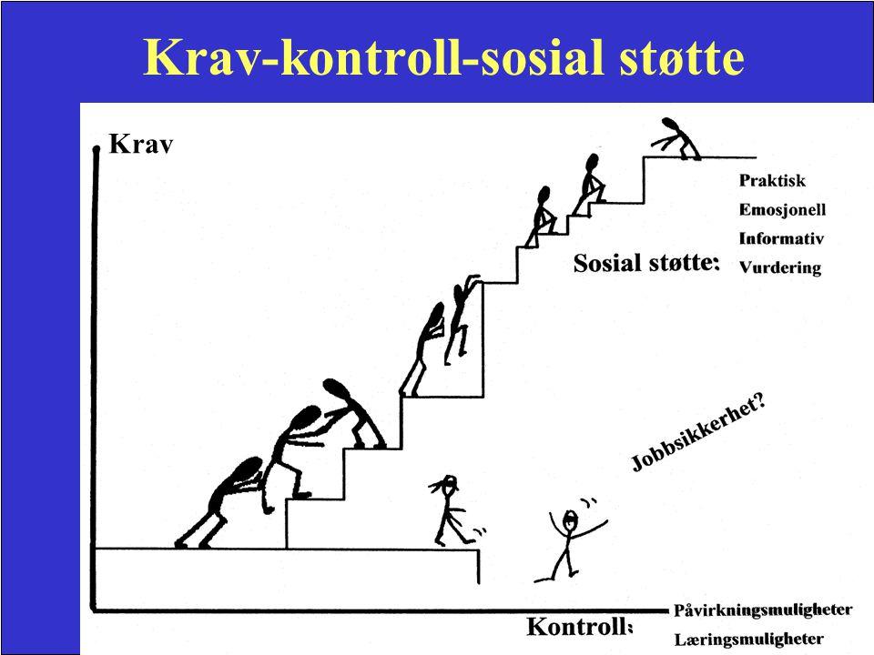 Krav-kontroll-sosial støtte