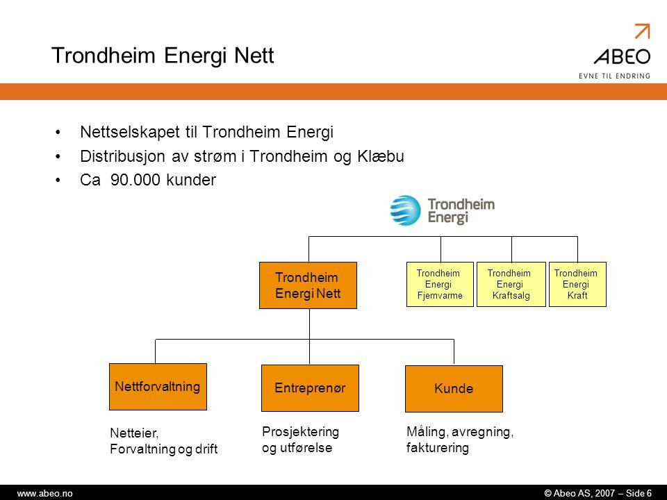 Trondheim Energi Nett Nettselskapet til Trondheim Energi