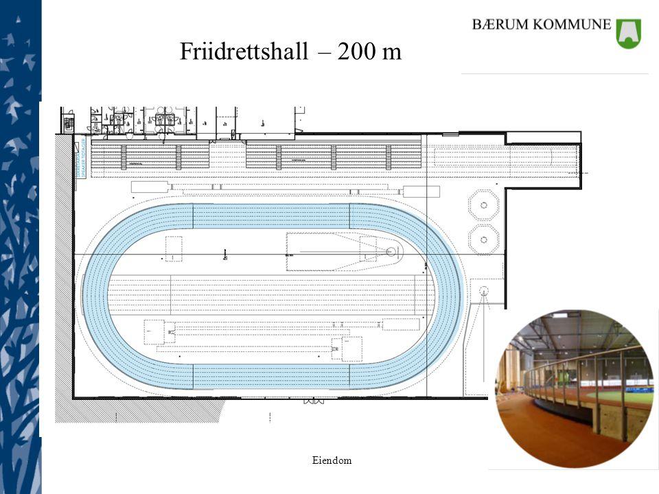 Friidrettshall – 200 m