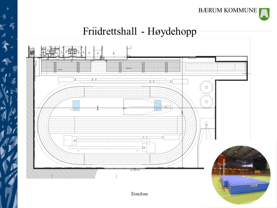 Friidrettshall - Høydehopp