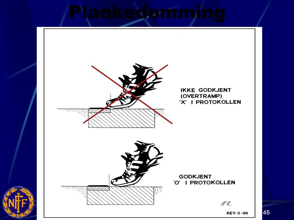 Plankedømming 46