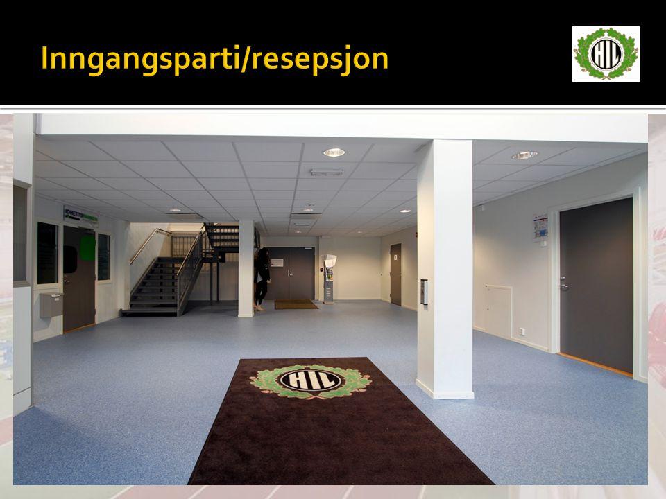 Inngangsparti/resepsjon