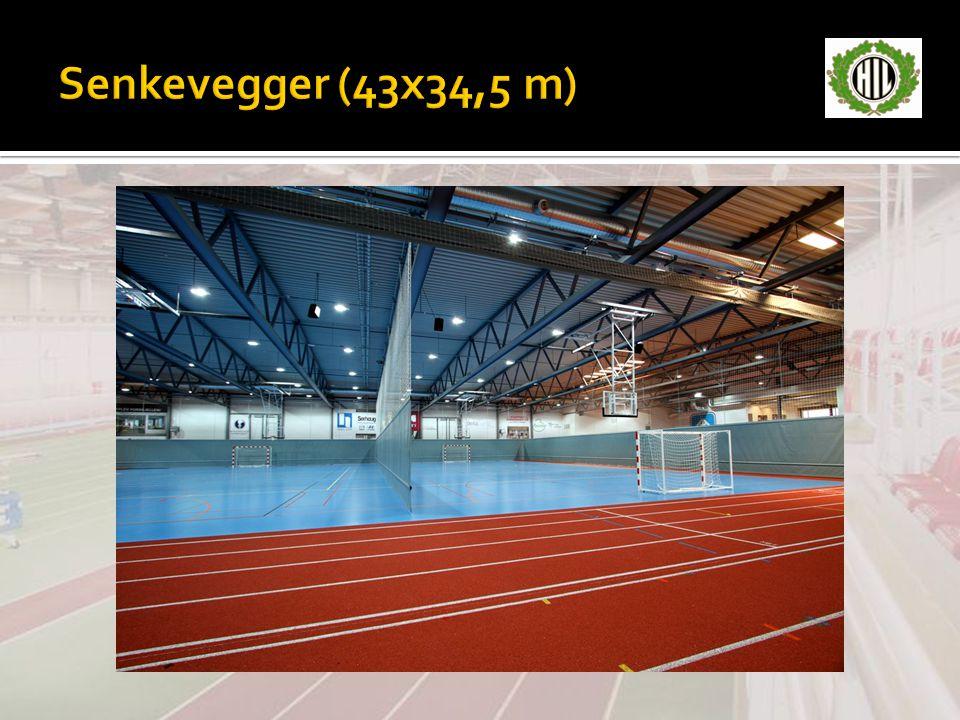 Senkevegger (43x34,5 m)