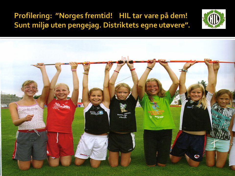 Profilering: Norges fremtid. HIL tar vare på dem