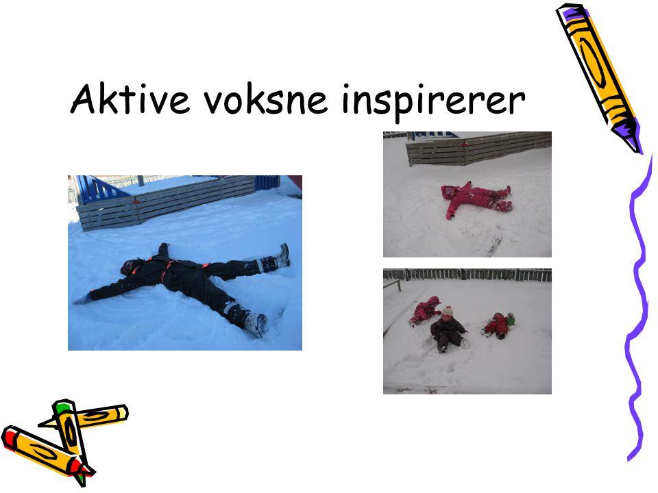 Aktive voksne inspirerer