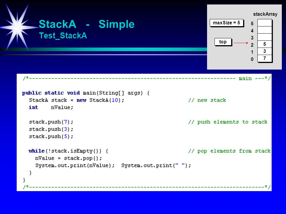 StackA - Simple Test_StackA