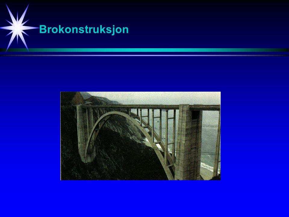Brokonstruksjon Konstruksjon av bruer.