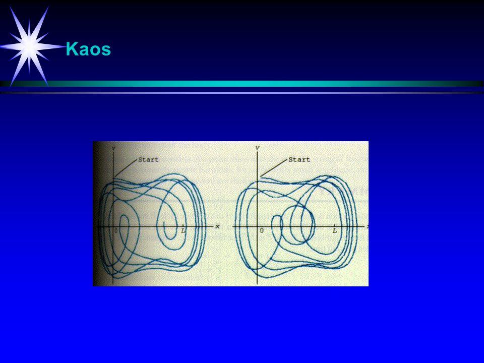 Kaos Kaos-studier med bl.a. store forløpsendringer