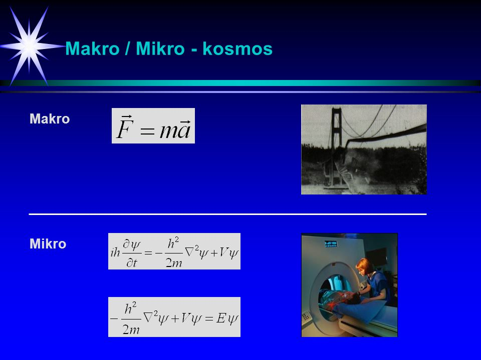 Makro / Mikro - kosmos Makro Mikro