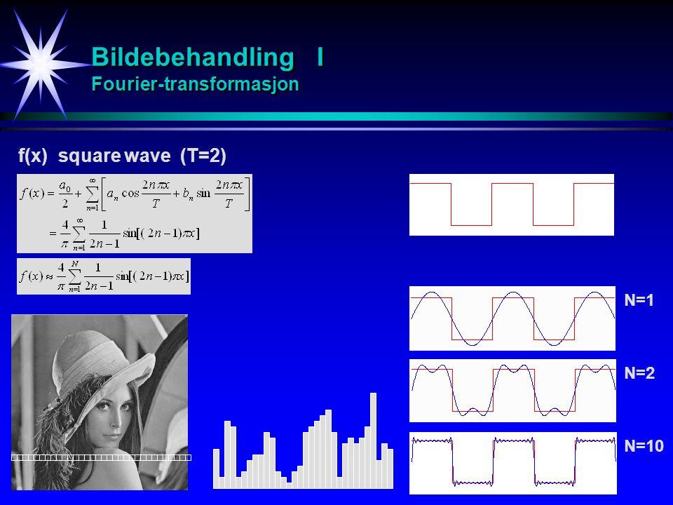 Bildebehandling I Fourier-transformasjon