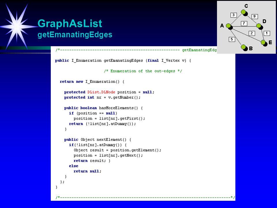 GraphAsList getEmanatingEdges