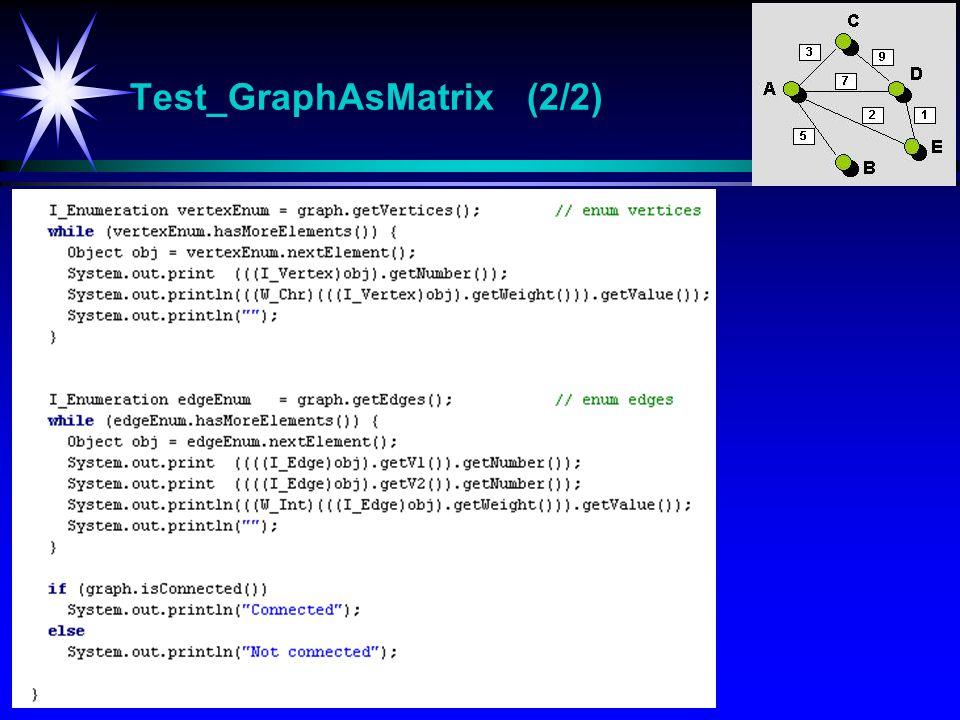 Test_GraphAsMatrix (2/2)