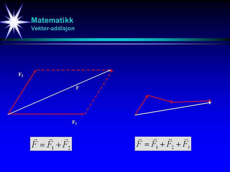 Matematikk Vektor-addisjon