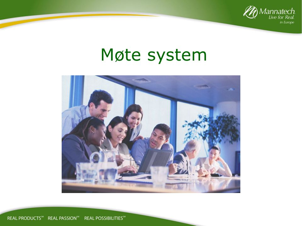 Møte system