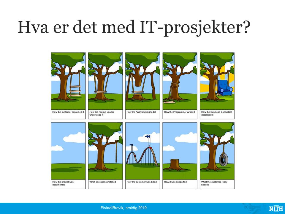 Hva er det med IT-prosjekter