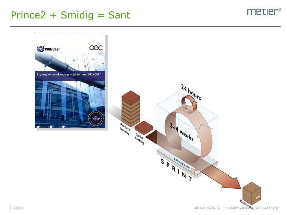 Prince2 + Smidig = Sant Litt presentasjon og kjapp historikk