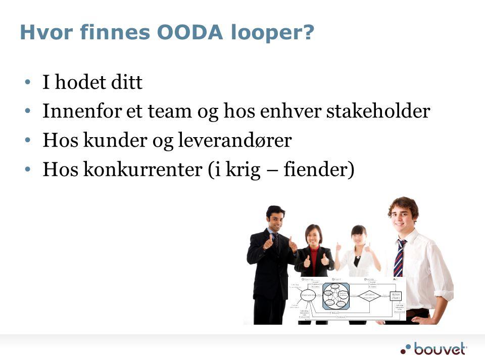 Hvor finnes OODA looper